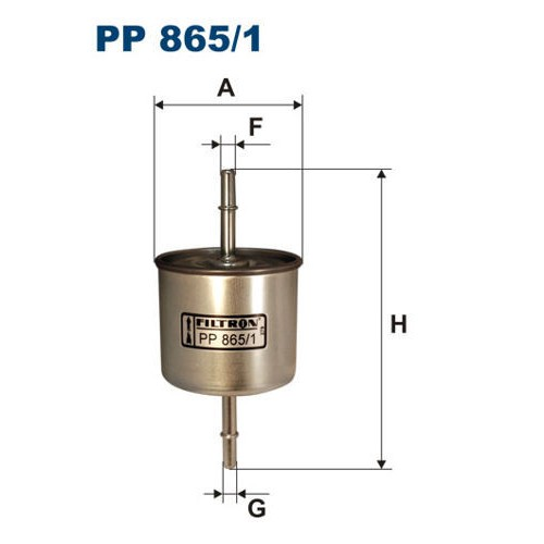 FILTR PALIWA FILTRON PP 865/1