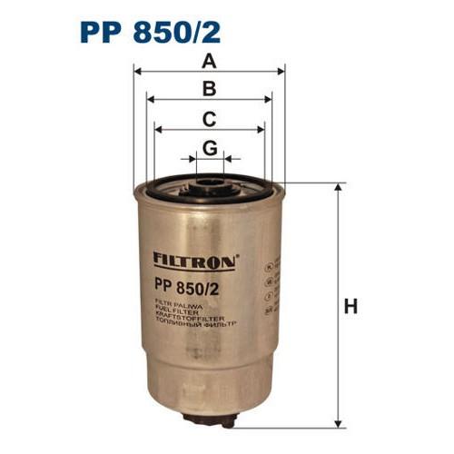 FILTR PALIWA FILTRON PP 850/2