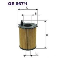 FILTRON filtr oleju OE 667/1
