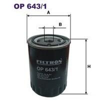 FILTRON filtr oleju OP 643/1