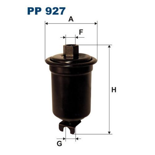 FILTR PALIWA FILTRON PP 927
