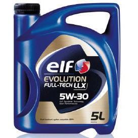 ELF EVOLUTION FULL-TECH LLX 5W-30 5L