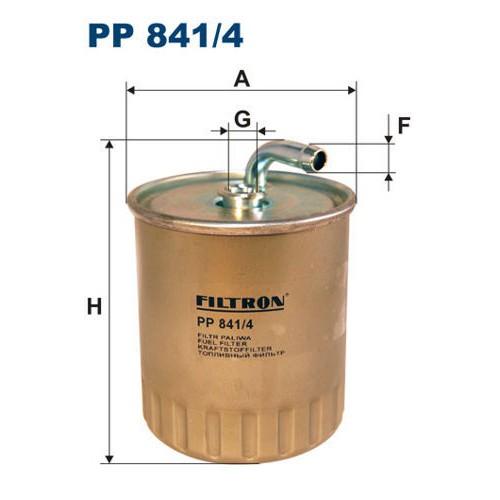 FILTR PALIWA FILTRON PP 841/4