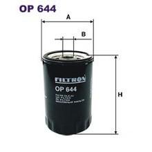 FILTRON filtr oleju OP 644