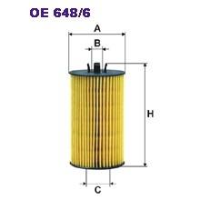 FILTRON filtr oleju OE 648/6