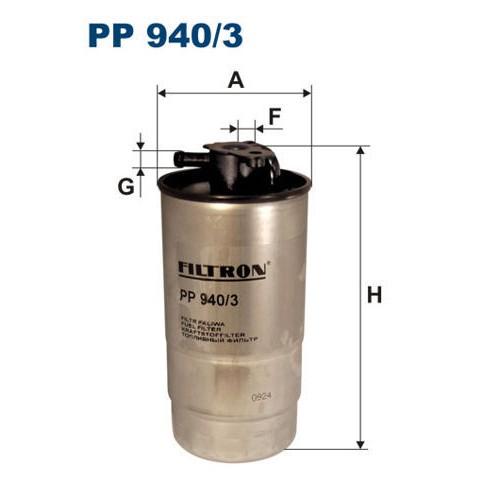 FILTR PALIWA FILTRON PP 940/3