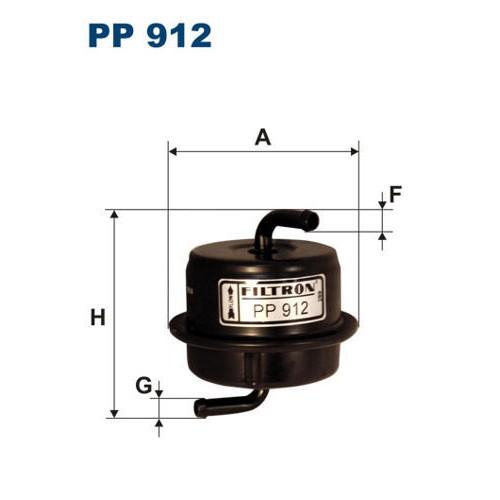 FILTR PALIWA FILTRON PP 912