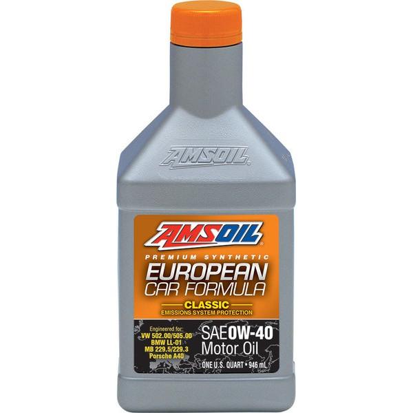 AMSOIL EUROPEAN CAR FORMULA (EFO) 0W-40 FULL SAPS 0.946L