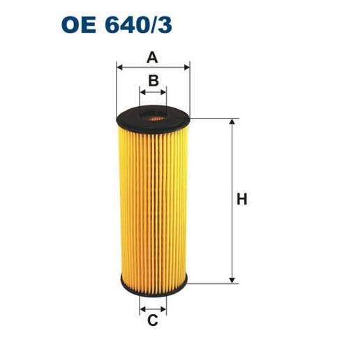 FILTR OLEJU FILTRON OE 640/3