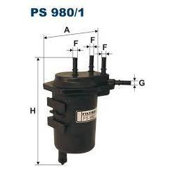 FILTR PALIWA FILTRON PS 980/1