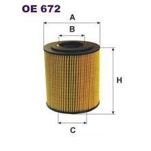 FILTRON filtr oleju OE 672