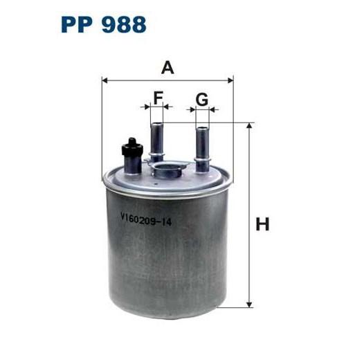 FILTR PALIWA FILTRON PP 988