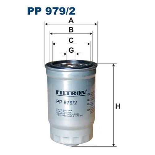 FILTR PALIWA FILTRON PP 979/2