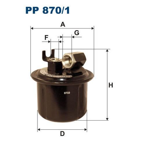 FILTR PALIWA FILTRON PP 870/1