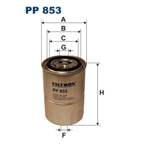 FILTR PALIWA FILTRON PP 853