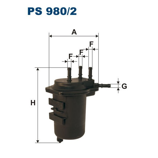 FILTR PALIWA FILTRON PS 980/2
