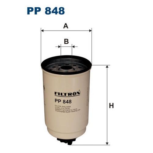 FILTR PALIWA FILTRON PP 848