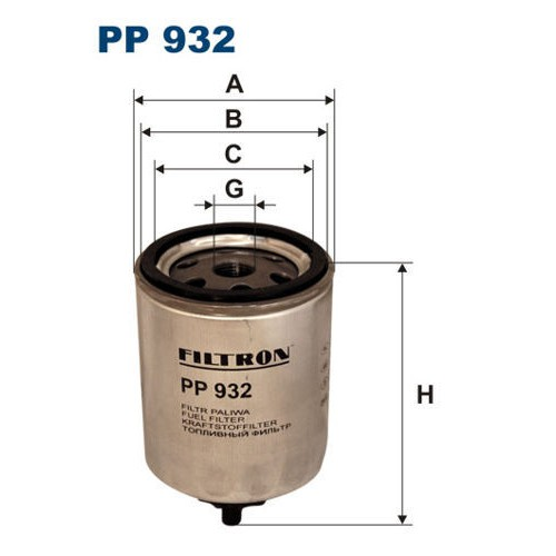 FILTR PALIWA FILTRON PP 932