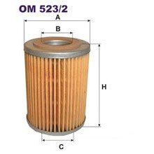 FILTRON filtr oleju OM 523/2