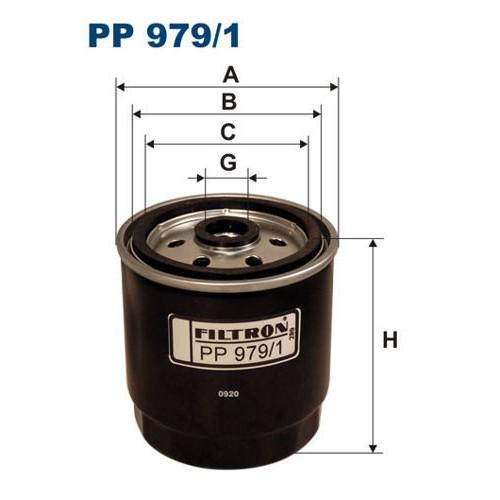 FILTR PALIWA FILTRON PP 979/1