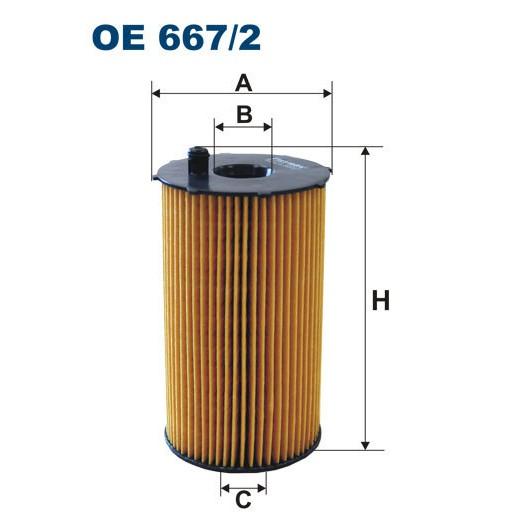 FILTRON filtr oleju OE 667/2
