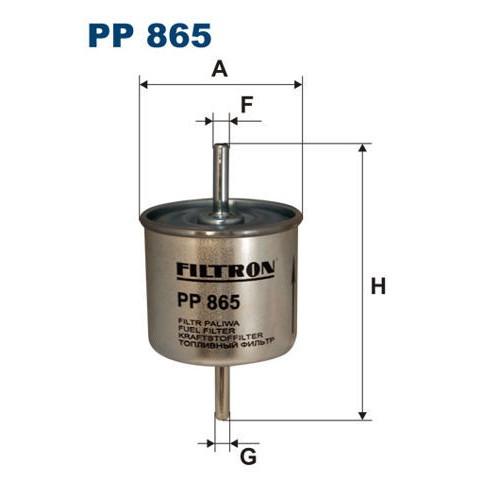 FILTR PALIWA FILTRON PP 865