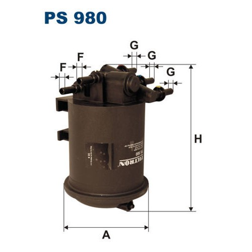 FILTR PALIWA FILTRON PS 980