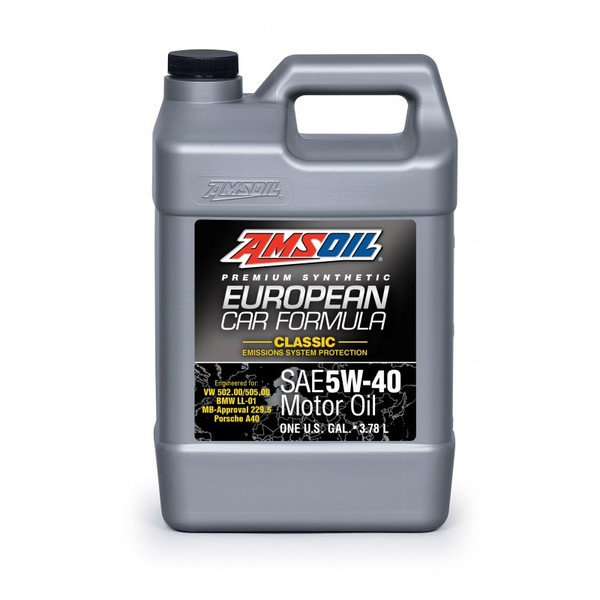 AMSOIL European Car Formula 100% Synthetic EFM 5W-40 3.78L
