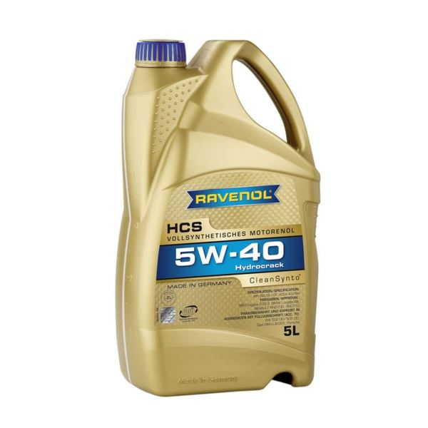 RAVENOL HCS 5W-40 CleanSynto® 5L