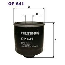 FILTRON filtr oleju OP 641