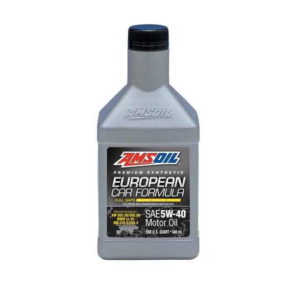 AMSOIL European Car Formula 100% Synthetic EFM 5w-40 0,946ml