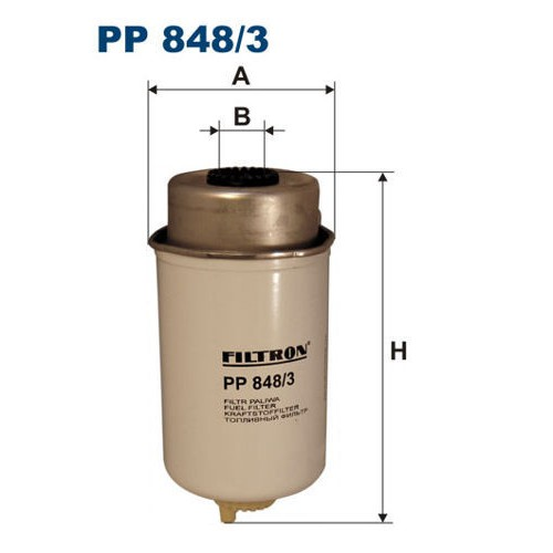 FILTR PALIWA FILTRON PP 848/3