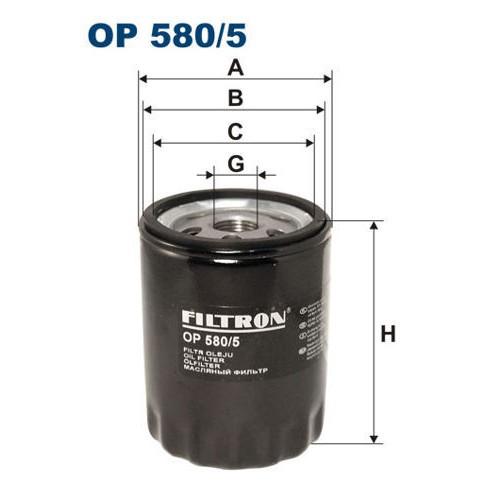 FILTR OLEJU FILTRON OP 580/5