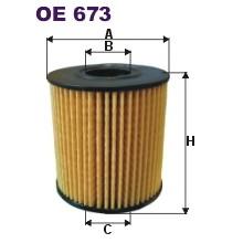 FILTRON filtr oleju OE 673