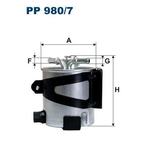 FILTR PALIWA FILTRON PP 980/7