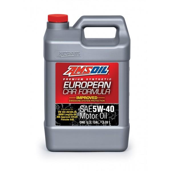 AMSOIL European Car Formula 100% Synthetic AFL 5W-40 3.78L