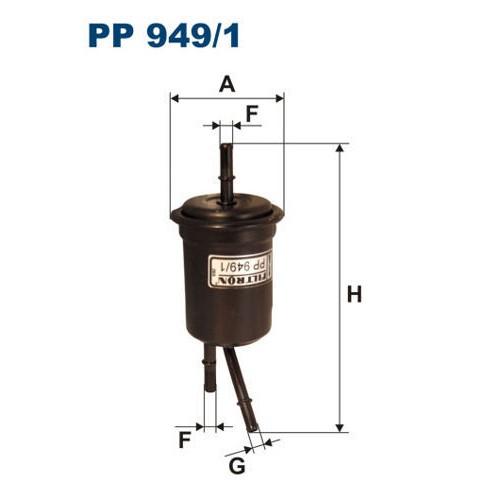 FILTR PALIWA FILTRON PP 949/1