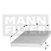 Filtr kabinowy MANN CU 27 009