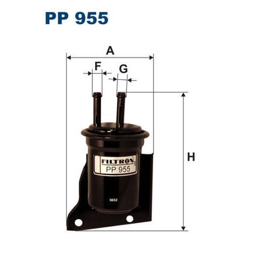 FILTR PALIWA FILTRON PP 955