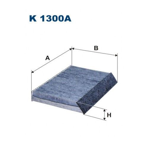 FILTR KABINOWY WĘGLOWY FILTRON K 1300A