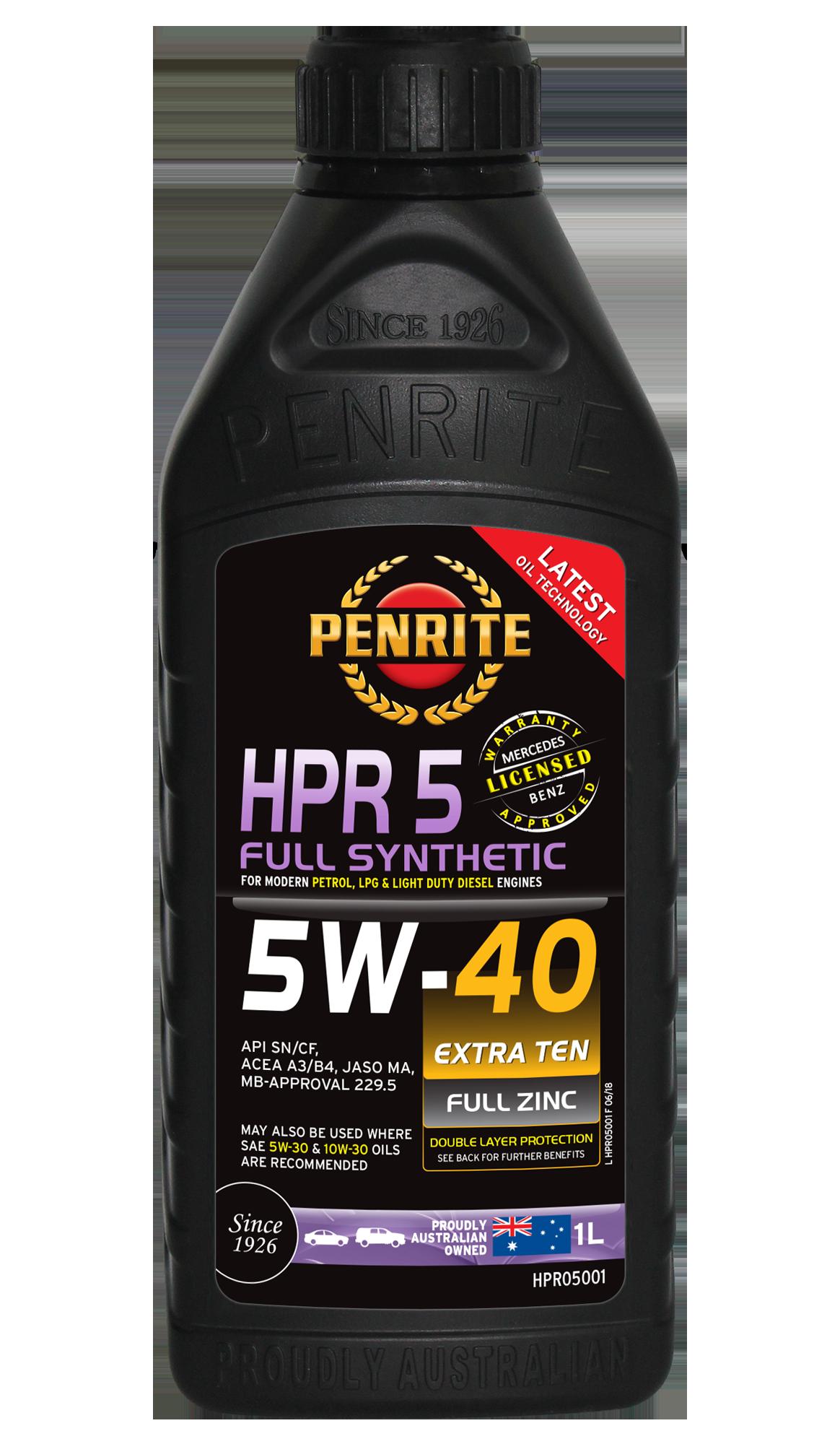 PENRITE HPR 5 5W-40 1L