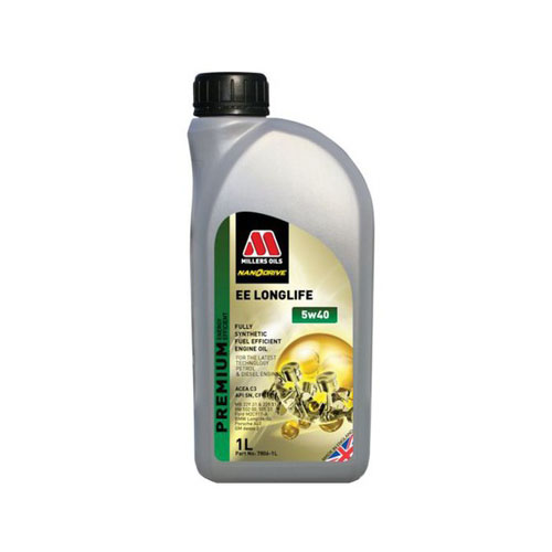 MILLERS OILS EE LONGLIFE 5W-40 1L