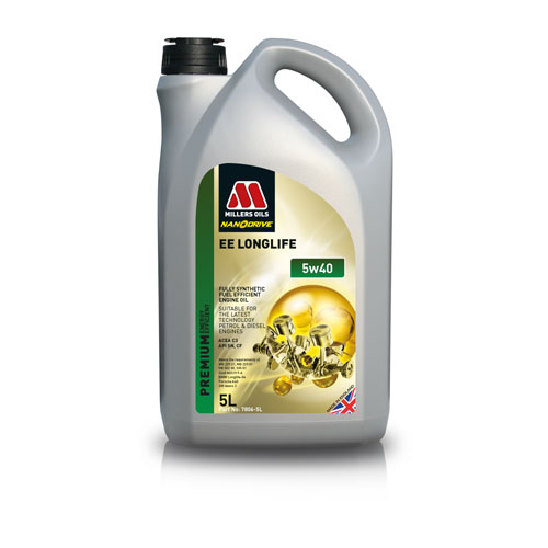 MILLERS OILS EE LONGLIFE 5W-40 5L