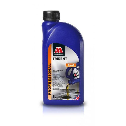 MILLERS OILS TRIDENT 5W-40 1L