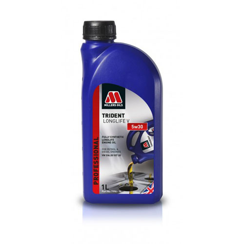 MILLERS OILS TRIDENT LONGLIFE 5W-30 1L