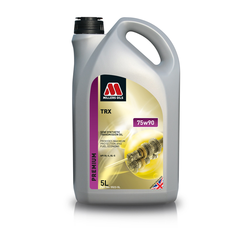 MILLERS OILS TRX SEMI SYNTHETIC 75W-90 5L