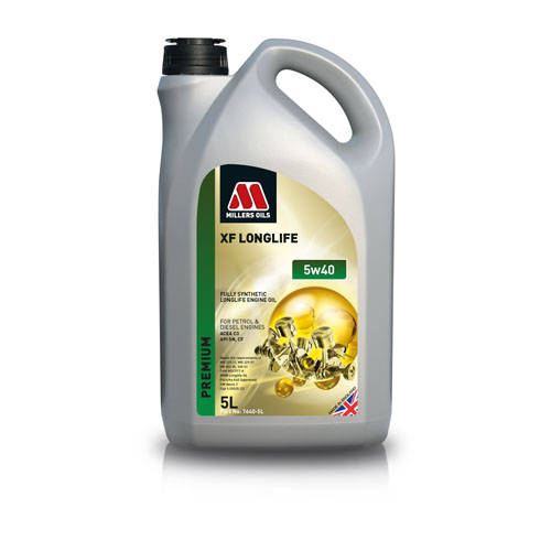 MILLERS OILS XF LONGLIFE 5W-40 5L