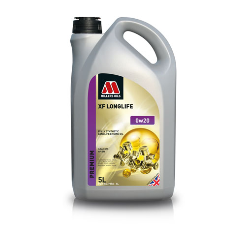 MILLERS OILS XF LONGLIFE 0W-20 5L