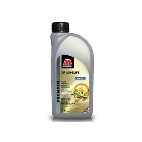 MILLERS OILS XF LONGLIFE 0W-40 1L