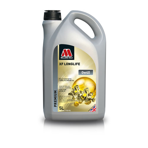 MILLERS OILS XF LONGLIFE 0W-40 5L
